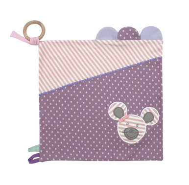 Organic Farm Buddies Activity Blanket - Ballerina Mouse