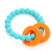 Chewbeads Mulberry Turquoise Teether