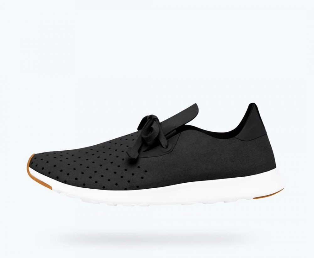 Native Apollo Moc - Adult - Jiffy Black/Shell White