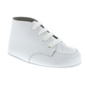 Footmates Crib White Infant Dress Shoe