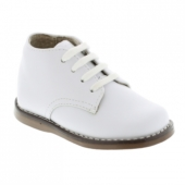 Footmates Todd White Lace-Up Walking Shoe