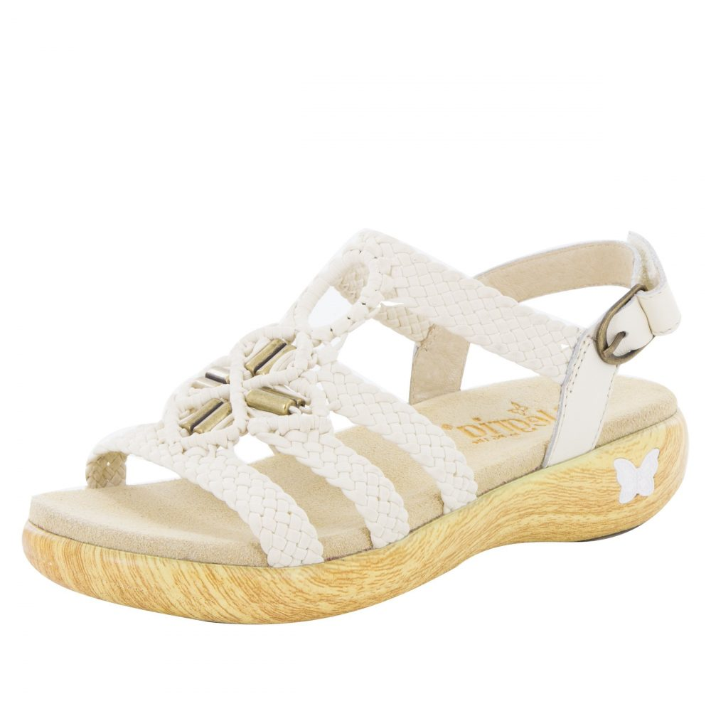 Alegria Shoes Jena - White
