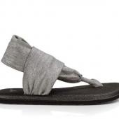 Sanuk Yoga Sling 2 Metallic Silver Women's Sandal