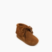 Minnetonka Infant Fringe Bootie Brown