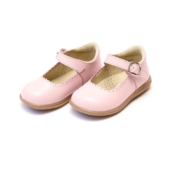 Angel Chloe Pink Scalloped Mary Jane